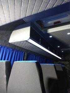 Обшивка салона микроавтобуса