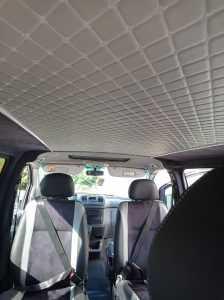 обшивка потолка авто